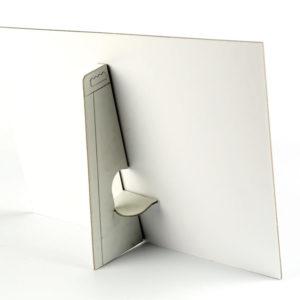 multiloft bordje standaard POS materiaal