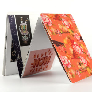 vouwen z-card drukwerk folder