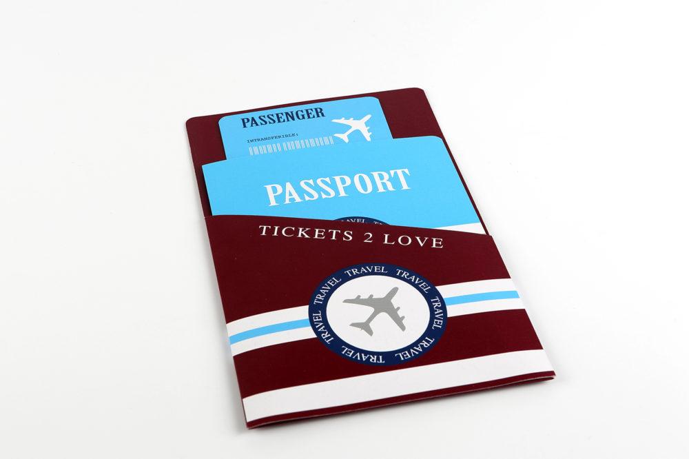 Paspoort trouwkaart