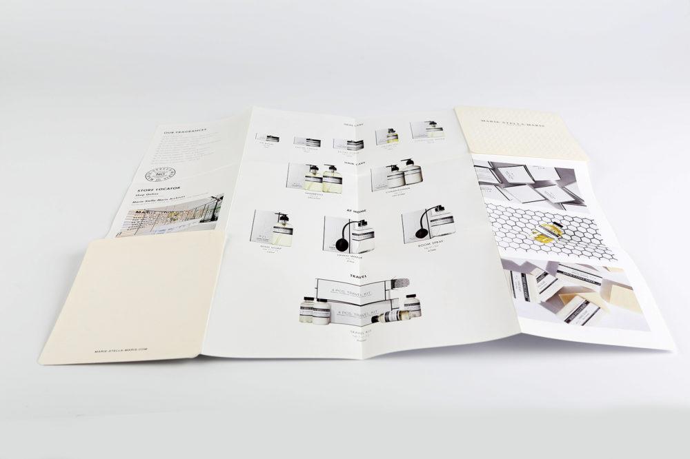 uitklapbaar drukwerk groot formaat z-card