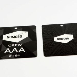Badges drukken voor beurs