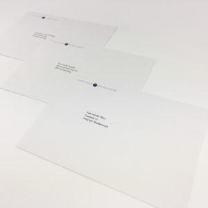 digitaal drukken enveloppen kleine oplages gepersonaliseerd